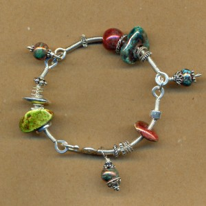 Linked Bangle Bracelet
