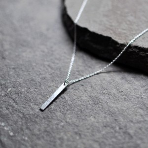 Smooth Bar Necklace