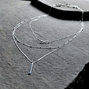 3-in-1 Layered Necklace Set A